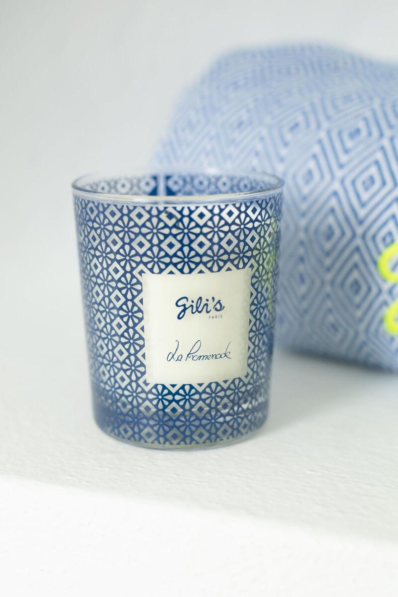 Bougie parfumée La Promenade x GILI'S