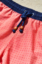 man wearing a swimsuit Red Azulejos