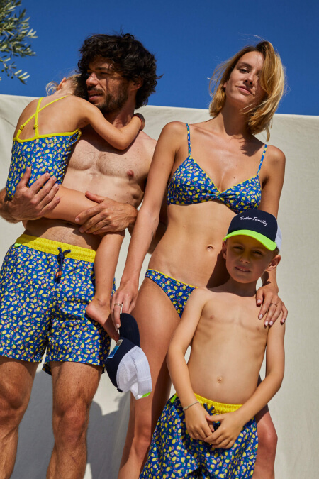 bas de maillot de bain deux-pièces femme Lemonade